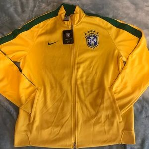 Brazil men's 2xlarge Nike Jacket